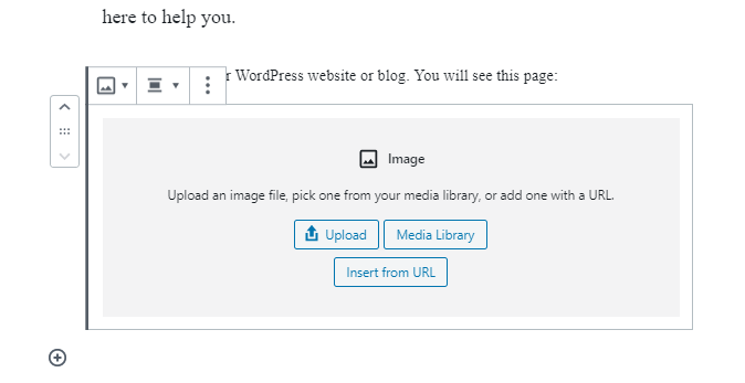 Add Image in Gutenberg Blocks in WordPress