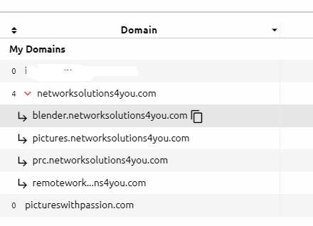 Creating a subdomain